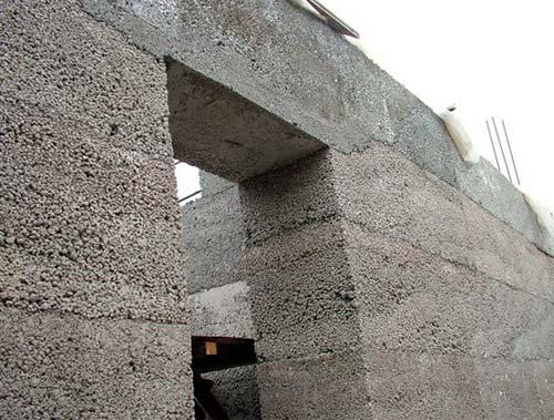 Стена из керамзитобетона своими руками 81